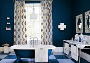 Enhance Your Bathroom Decoration With Designer Bathroom Curtain