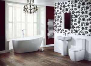 How to Decorate a Bathroom With Bathroom Wallpaper Ideas